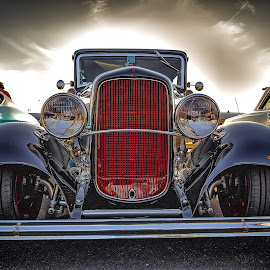 Red Grill by Ron Meyers - Transportation Automobiles