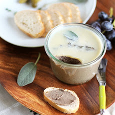 Chicken Liver Pâté with Sage, Apple and Thyme
