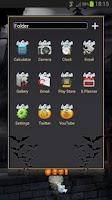 Screenshot of Next Launcher Halloween Theme