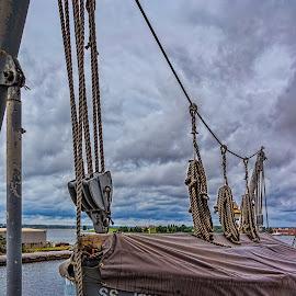 Just in case by Izzy Kapetanovic - Transportation Boats ( ww2, ship, roap, lifeboat, baltimore, ss john brown )