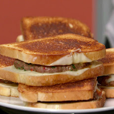 Garlicky Patty Melts with Provolone
