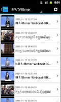 Screenshot of Khmer Hot News