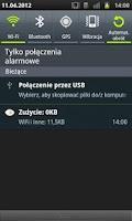 Screenshot of Licznik Danych w Telefonie