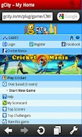 Screenshot of gCity Cricket Mania