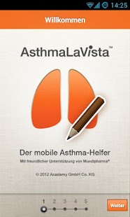 AsthmaLaVista Screenshot