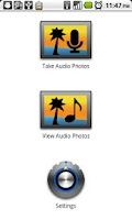 Screenshot of Audio Photos Free