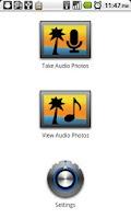 Screenshot of Audio Photos Free