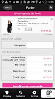 Screenshot of La Redoute CH