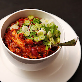 Easy Pork and Three Bean Chili