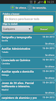 Screenshot of Empleos de InfoJobs &RSS