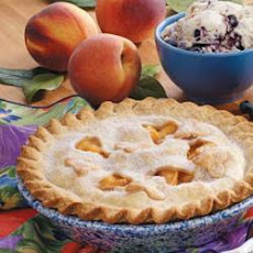 Creamy Peach Pie