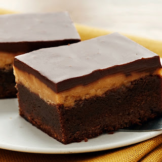 Extreme Fudgy Peanut Butter Brownies