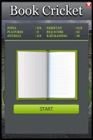 Screenshot of Book Cricket