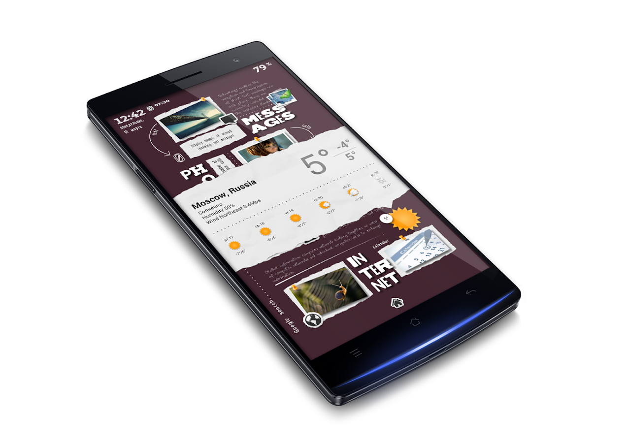 Cut Zooper Widget Skin Screenshot 1