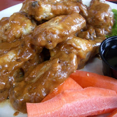 Chicken Wings With Peanut Sauce