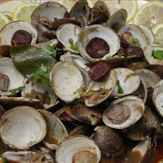 Clams With Chorizos
