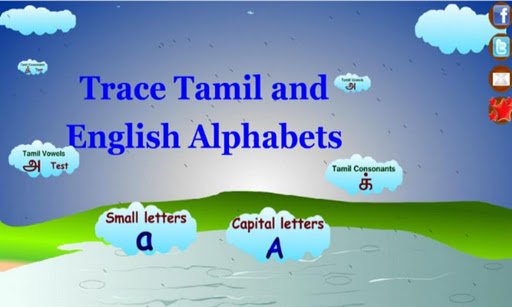 Indian alphabet comparison page