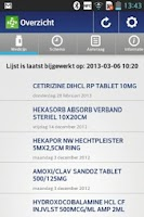 Screenshot of MedicijnKluis