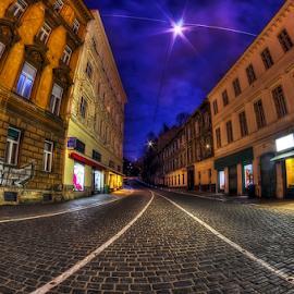by Boris Frković - City,  Street & Park  Street Scenes
