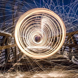 Vortex  by Zachary Beno - Abstract Light Painting ( adventure, steelwool, landscape )