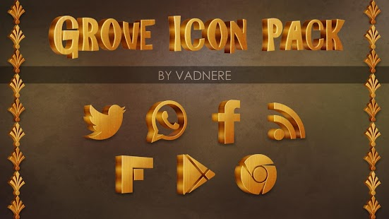 Grove Multilauncher Icon Pack- screenshot thumbnail