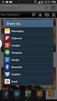 Screenshot of Lumen Toolbar