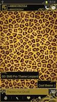 Screenshot of GO SMS Pro Theme Leopard