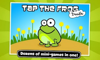 Screenshot of Tap the Frog: Doodle