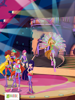 Screenshot of Winx Club: Rocks the World