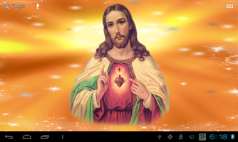Screenshot of Jesus Live Wallpaper Free