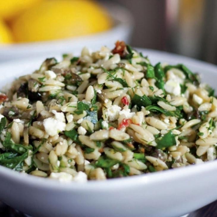 ... orzo salad orzo salad with basil and tomatoes greek orzo salad jpg w