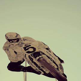 The Sky Racer by Diego Beca - City,  Street & Park  Amusement Parks