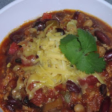 Not Your Typical Chili...  Hot & Healthy!