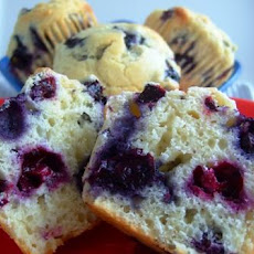 New England Blueberry Muffins
