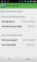 Screenshot of Borås Elnät