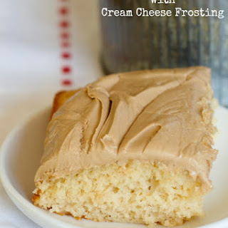 Root Beer Float Cake with Cream Cheese Frosting