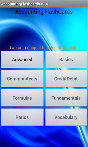Accounting Flashcards