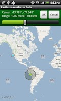 Screenshot of Earthquake Alerter Free