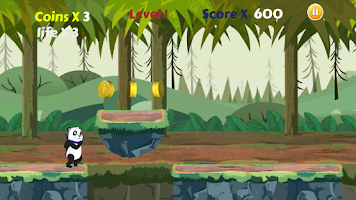 Screenshot of Panda Run HD