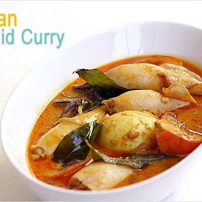 Gulai Sotong / Indian Squid Curry