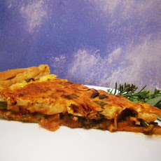 Ratatouille-Quiche