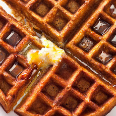 Gingerbread Waffles with Vanilla Bean–Orange Butter Recipe