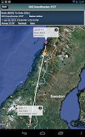 Screenshot of Oslo Airport + Flight Tracker