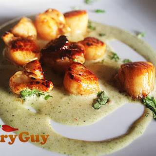 Scallops Lime And Coriander Recipes