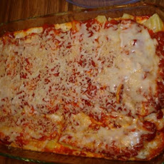 The Best Cheese Manicotti