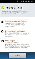Screenshot of AwayFind  (Email Alerts)