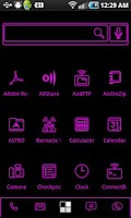 Screenshot of LightWorks Pink ADW Theme