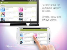 Screenshot of MirrorOp Sender for Galaxy