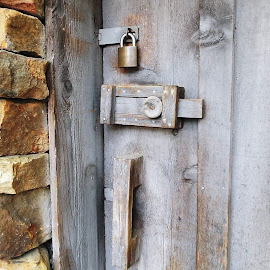 Locked Door by Keith Bass - Artistic Objects Other Objects ( doors, wheel house doors, arkansas photographer, wheel house door, lock, door, locked doors, locked door, locked, arkansas )