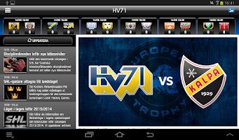 Screenshot of HV71